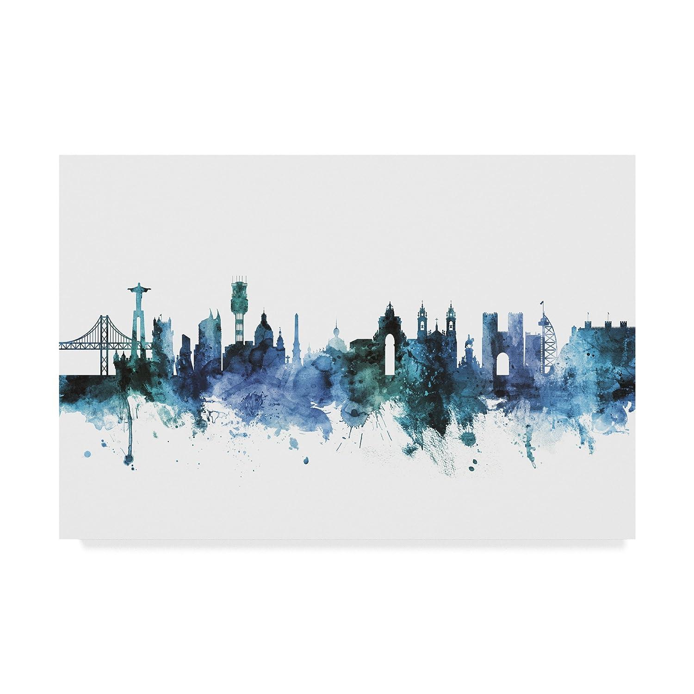 Trademark Fine Art MT01664-C2232GG Michael Tompsett Wall Decor, Multicolor