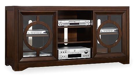 Hooker Furniture 5066 55402 Kinsey 60u0027u0027 Entertainment Console, Dark Wood
