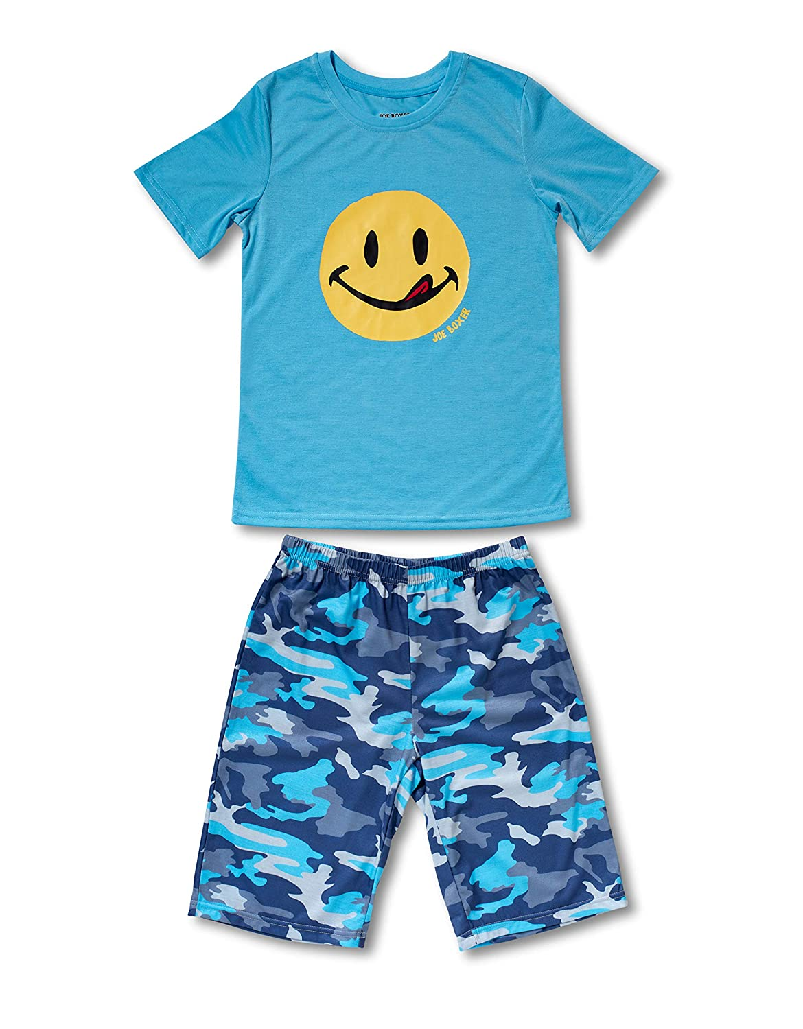 Joe Boxer Boys Big Boys Joe Army Tee//Short Set
