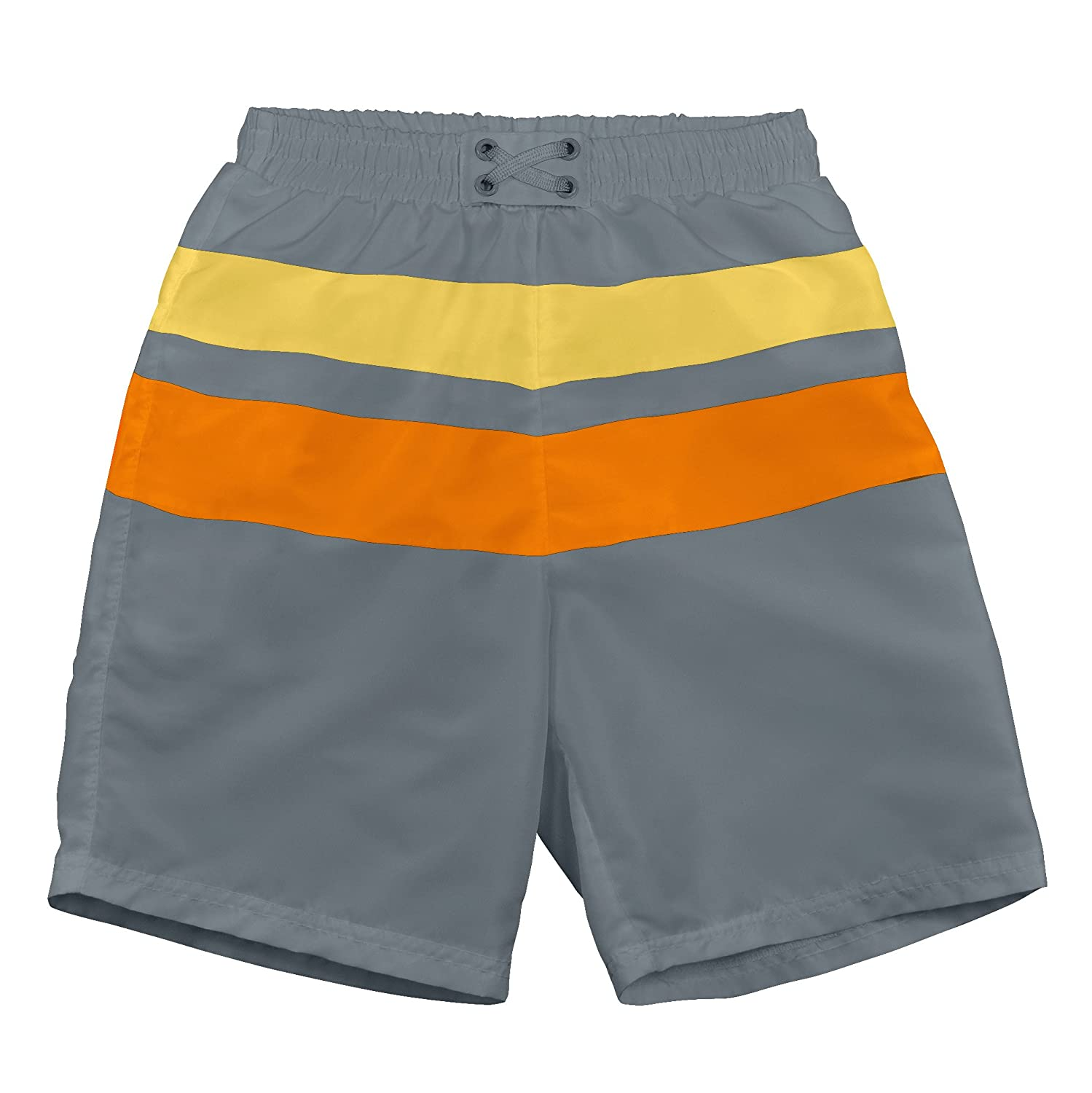I-Play. Baby Boys' Colorblock Trunks with Built-In Reusable Absorbent Swim Diaper i play Children' s Apparel 722113