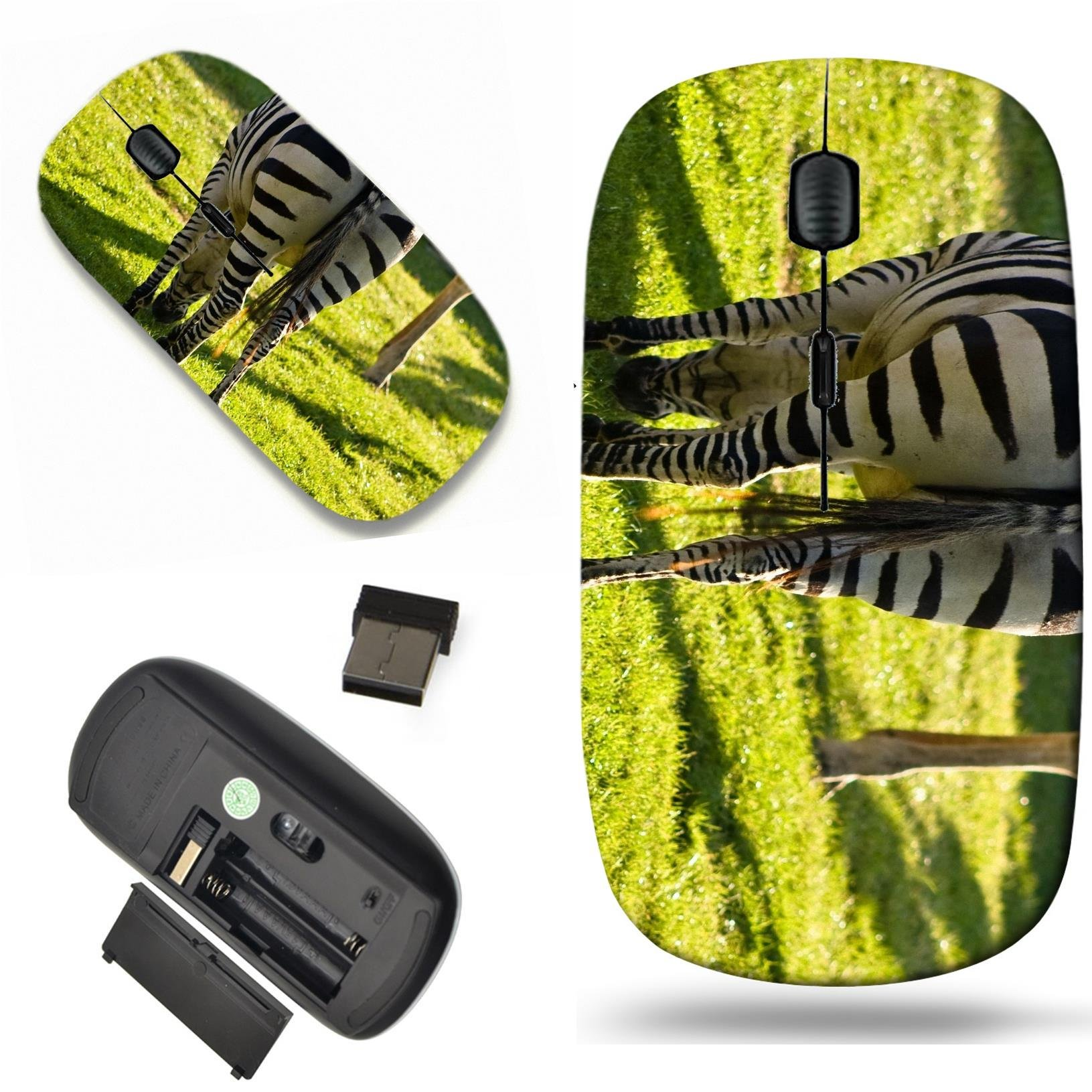 Luxlady Wireless Mouse Travel 2.4G Wireless Mice with USB Receiver, 1000 DPI for notebook, pc, laptop, computer, mac design IMAGE ID 3905689 Zebras are African equids best known for their distinctive