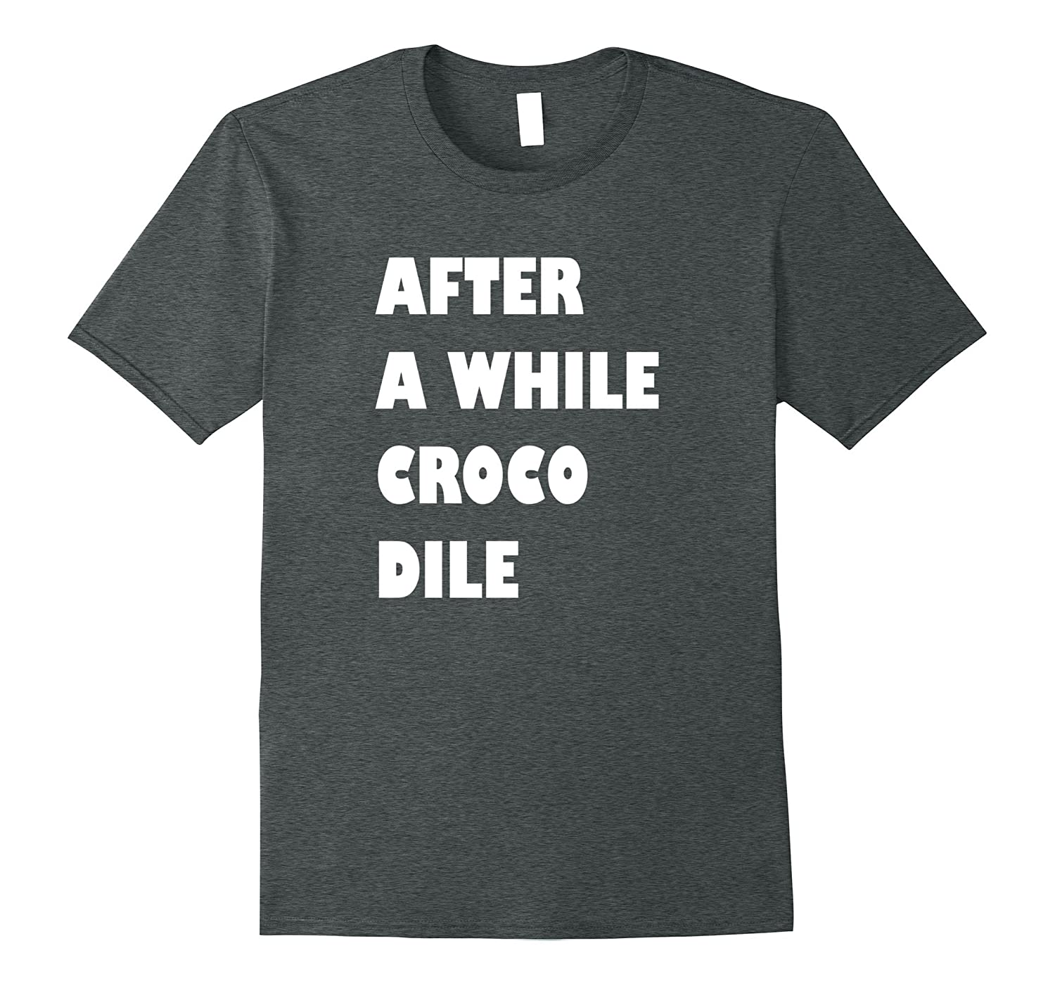 After A While Crocodile BFF T-shirt by Nozzld-CL