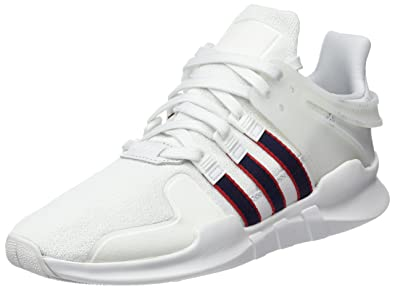 info for 2f57e 50129 adidas EQT Support ADV, Sneakers Basses Homme, Blanc (Crystal  White Collegiate Navy