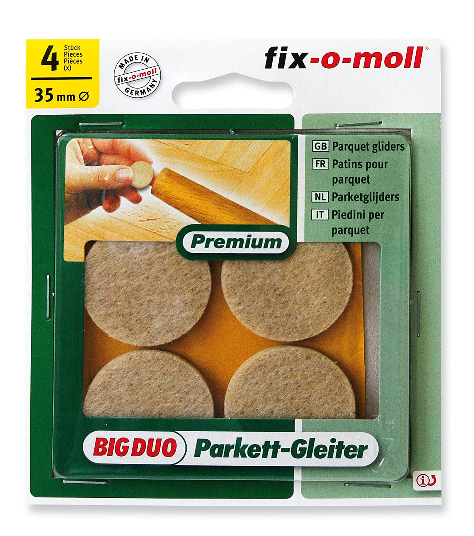 Ritterrath 3566065 Big-Duo Parkettgleiter 80x95mm