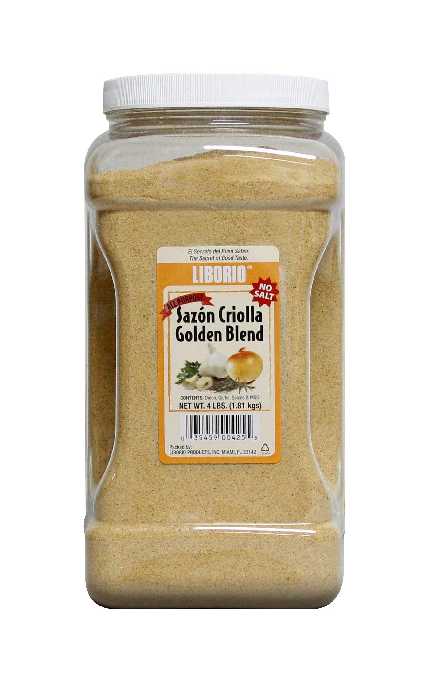 Liborio Sazón Gold All Purpose Seasoning, 4 lb