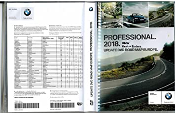 BMW Navi Update Professional 2018 DVD Road Map Europe Amazon
