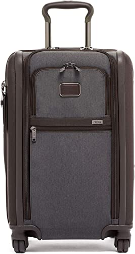 TUMI – Alpha 3 International Dual Access 4 Wheeled Carry-on Luggage – 22 Inch Rolling Suitcase for Men and Women – Anthracite