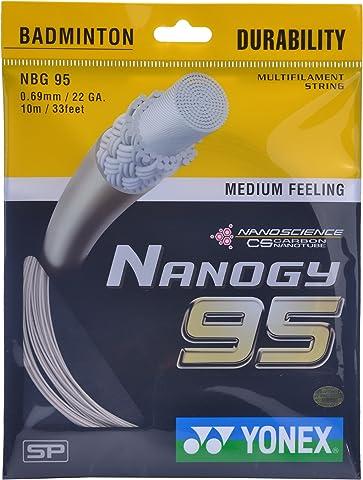 Yonex Nanogy 95 Badminton Strings, 0.69mm Badminton Strings