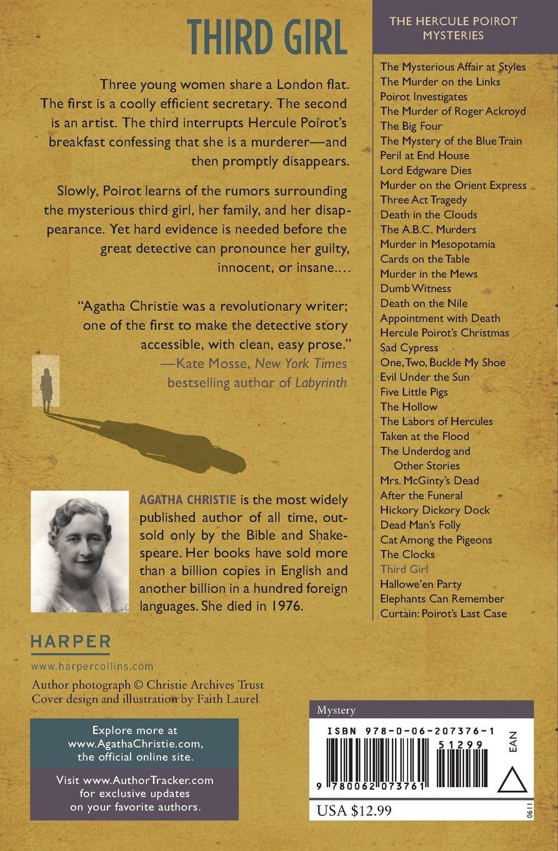 Third Girl: A Hercule Poirot Mystery (Hercule Poirot Mysteries ...