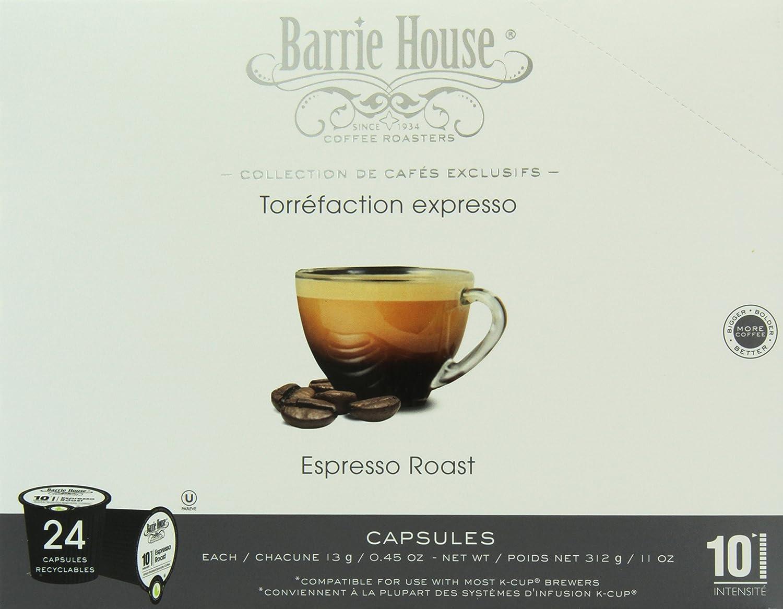 Barrie House Espresso Roast Single Cup Capsule, 96 Count: Amazon.com: Grocery & Gourmet Food