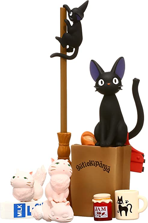 Benelic Kikis Delivery Service Laughing Jiji Charm Official Studio Ghibli Merchandise