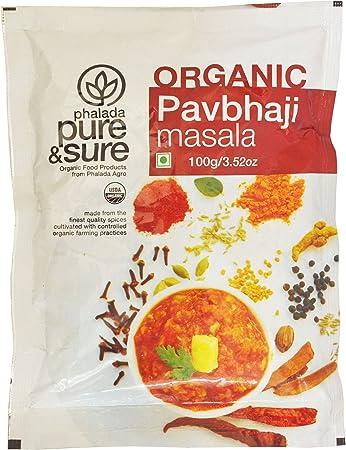 Pure & Sure Organic Pav Bhaji Masala, 100g