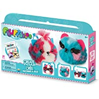 """The Orb Factory Fluffables Cherry & Blueberry Double Arts and Crafts (31 Piece), Blue/Pink/White, 11.75"""" x 2"""" x 6"""""""