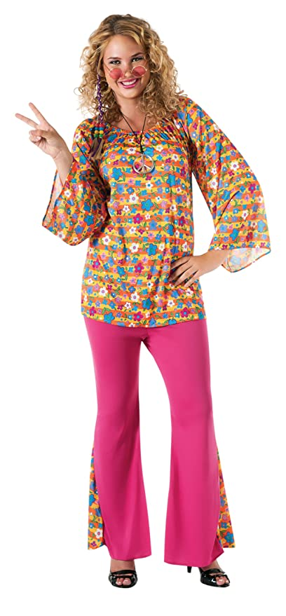 60s -70s  Men's Costumes : Hippie, Disco, Beatles Rubies Costume Big Mama 1960S Woodstock Woman Costume $25.91 AT vintagedancer.com
