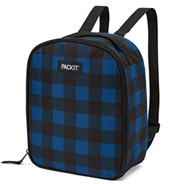 PackIt Upright Nevera Portátil, Azul (Navy Buffalo), 3.8: Amazon ...