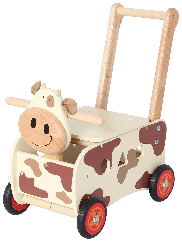 im toy Schiebewagen Kuh
