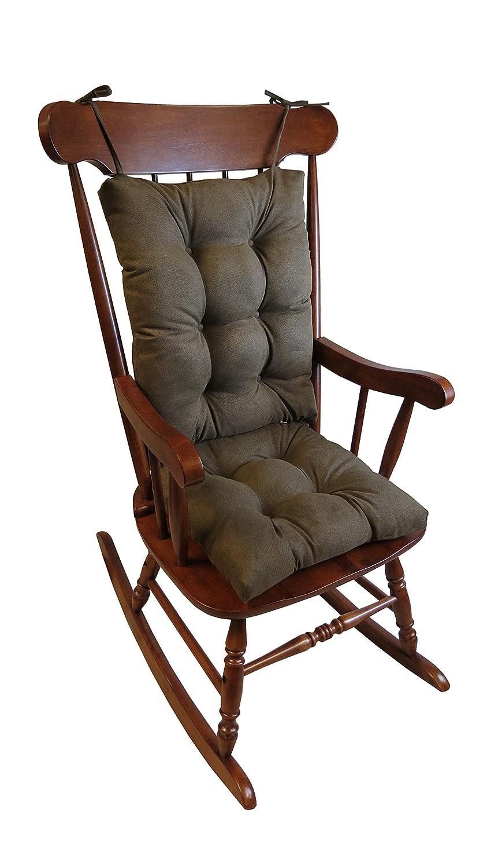 Superior Amazon.com: Klear Vu The Gripper Non Slip Rocking Chair Cushion Set  Honeycomb, Chocolate: Home U0026 Kitchen