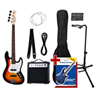 Rocktile Groover's Pack JB E-Bass Set II Sunburst Groover's Pack + Rockt. Tuner + CC stand