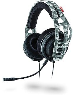 Plantronics RIG 400HS Binaurale Diadema Camuflaje Auricular con micrófono - Auriculares con micrófono (Consola de