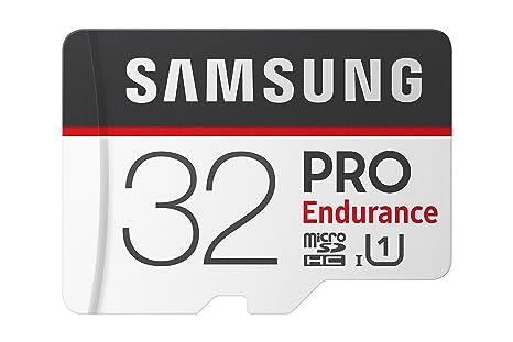 Samsung 32GB 100MB/s (U1) Pro Endurance - Tarjeta de Memoria ...
