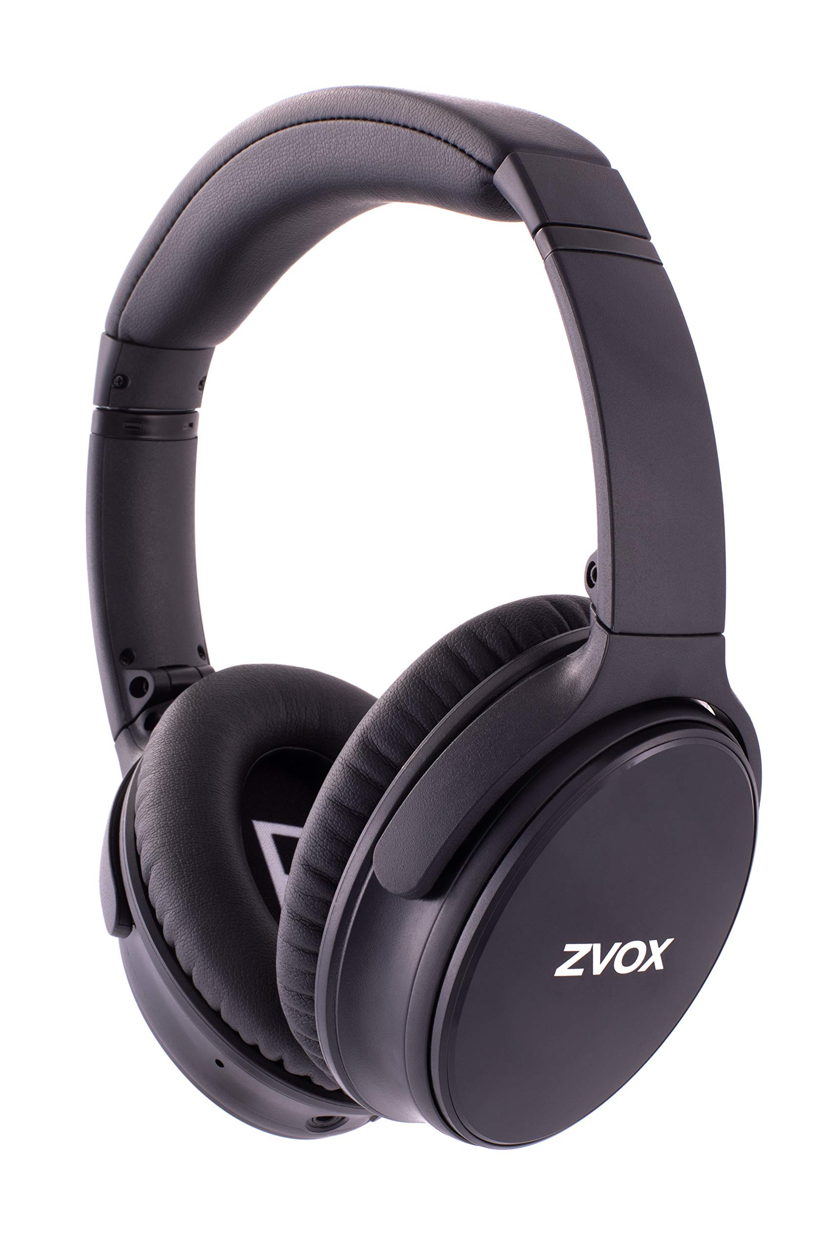 ZVOX AccuVoice AV50 Noise Cancelling Headphones (Black) by ZVOX
