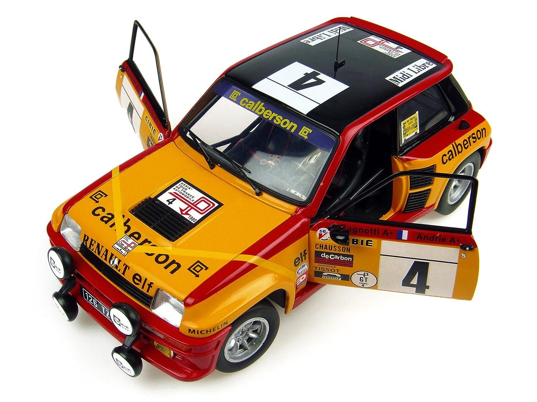 Universal Hobbies uh4533 - Modelismo - Coche - Renault 5 Turbo N ° 4, Calberson - Tour De France 8 179: Amazon.es: Juguetes y juegos