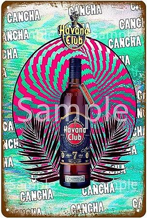 IMIMOEXQ Cartel de Chapa de Metal de Havana Club, Cartel de ...