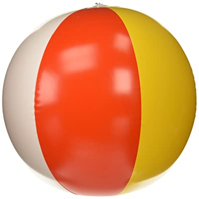 U.S. Toy Beach Ball Inflates 13 Inch (1 Dozen Bulk): Toys & Games