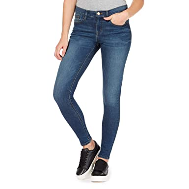 2905dee758a96 Red Herring Womens Blue 'Holly' Supersoft Ultra-Stretch Skinny Jeans ...