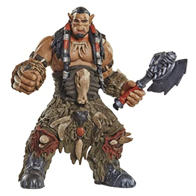 Warcraft Mini Figure Durotan & Alliance Soldier Action Figures (2 Pack): Toys & Games