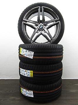 BMW 2 Active Gran Tourer F45 F46 18 pulgadas Llantas Verano ruedas TPMS Dunlop nuevo: Amazon.es: Coche y moto