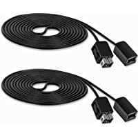 Amazon.com deals on 2 Pack Fosmon SNES Classic Controller Extension Cable 10FT