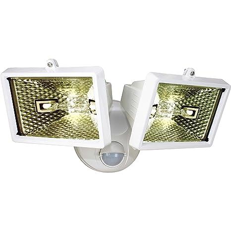 Smartwares ES120/2W Luz de seguridad, Luces dobles, Sensor ...