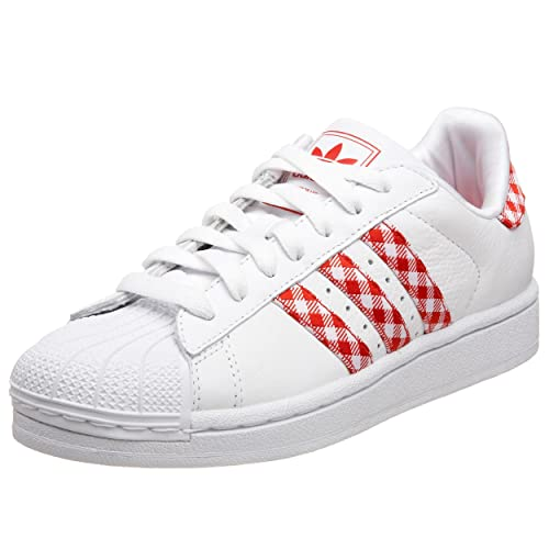 44e47a535ac3d Adidas Originals Women s Superstar 2 Gingham Sneaker