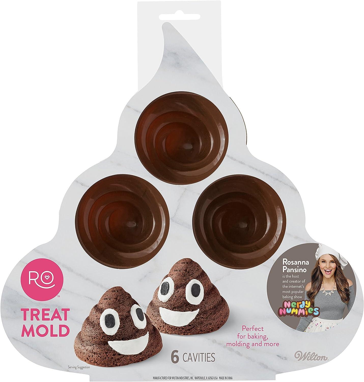 Emoji Cartoon Poop silicone mold Fondant-Resin-crafts-Clay-Candy-Jewelry-gumpaste
