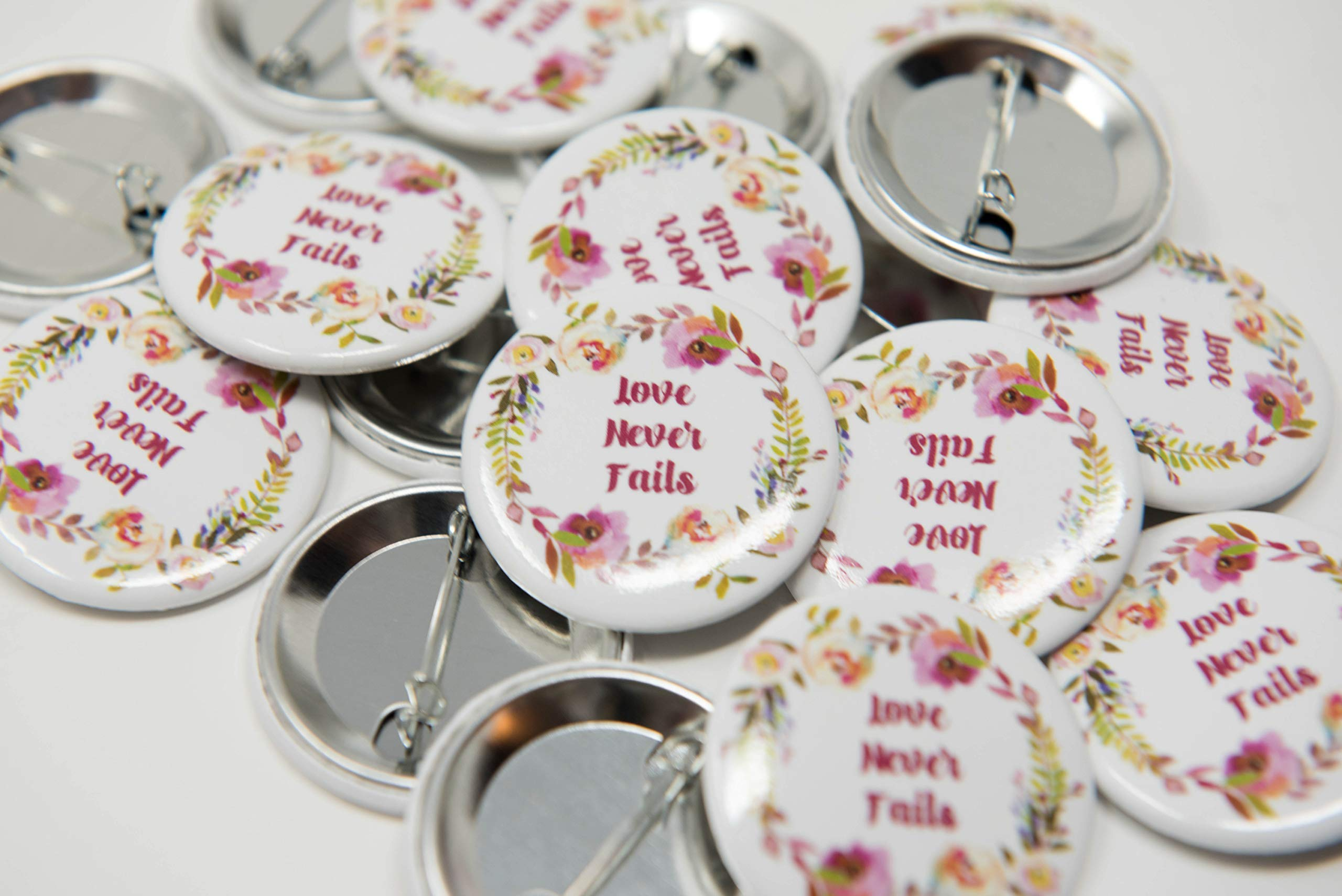 ENGLISH - 200 Lapel Buttons Pins - Love Never Fails International  Convention of Jehovah's Witnesses 2019, Jw gifts, Jw shop, souvenirs,  assembly gifts