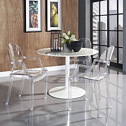 BSD National Supplies Olivia Classic Clear Dining Chairs Set of 1