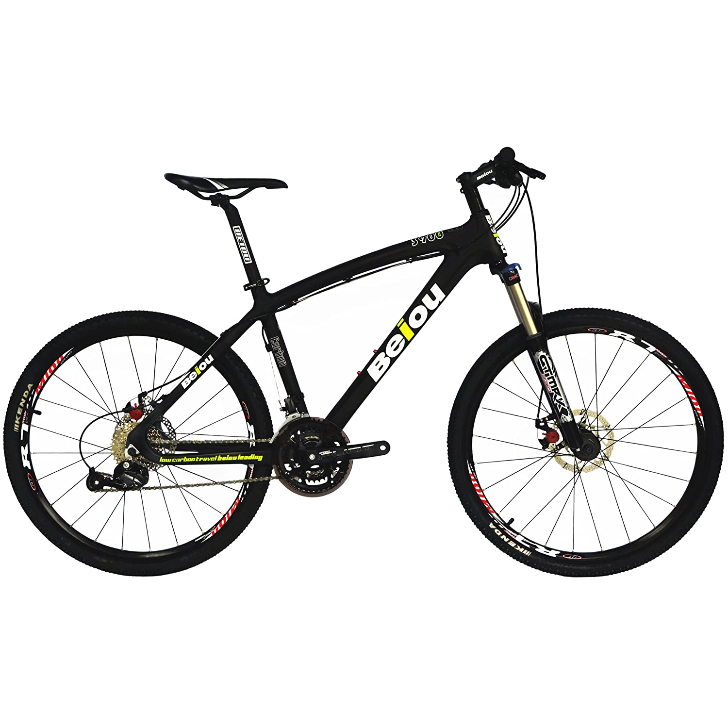 Amazon.com : BEIOU Toray T700 Carbon Fiber Mountain Bike Complete ...