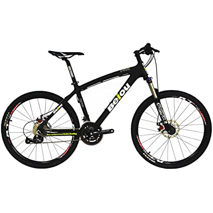 Carbon Fiber Mountain Bike >> Beiou Toray T700 Carbon Fiber Mountain Bike Complete Bicycle Mtb 27 Speed 26 Inch Wheel Shimano 370 Cb004