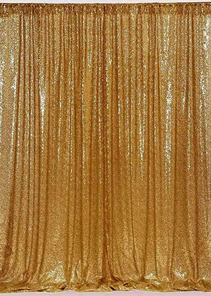 Amazon ShinyBeauty Gilitter Backdrop 6FTx6FT Gold Sequin
