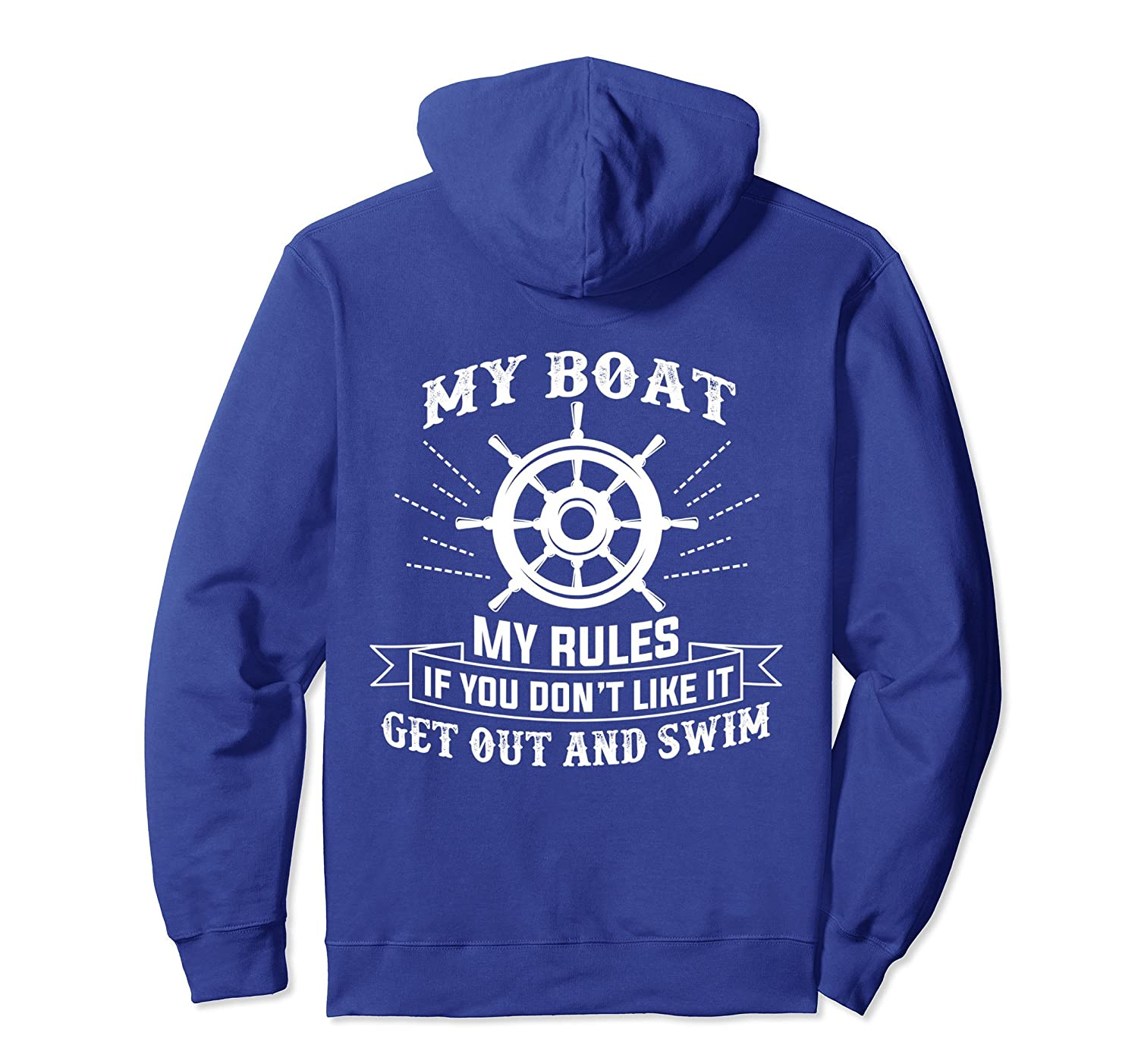 Boating Hoodie For Sea Captains And Fisherman-alottee gift
