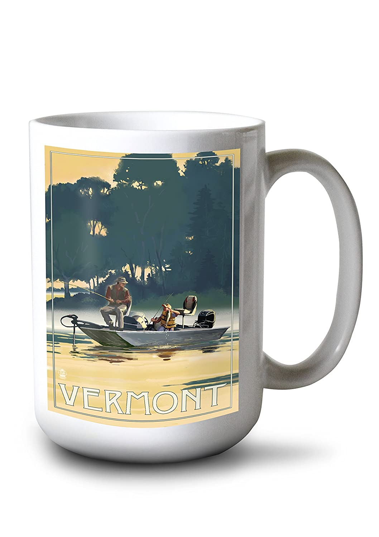 スーパーセール期間限定 Vermont – 漁師のボート Canvas Bag Tote Bag 漁師のボート LANT-69234-TT Tote B01B5O9WZ8 15oz Mug 15oz Mug, 神山町:49ae8029 --- rarspoliplas.com