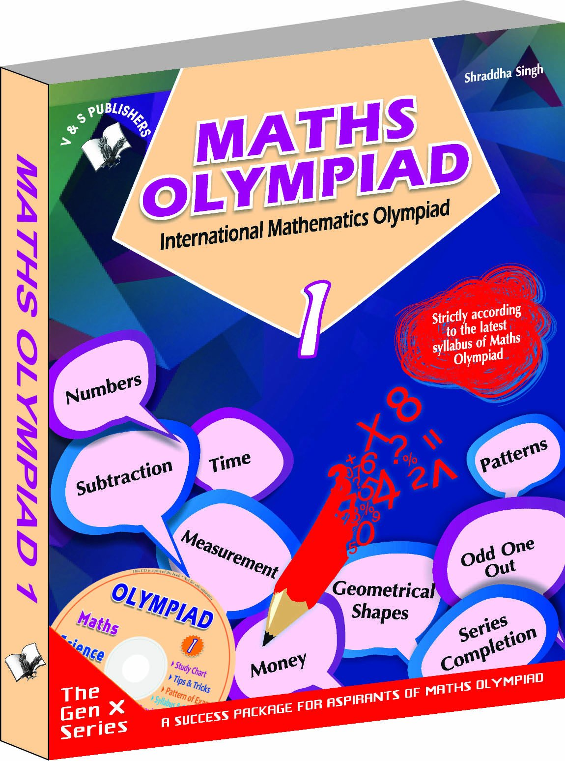 Buy International Maths Olympiad - Class 1 with CD: Theories