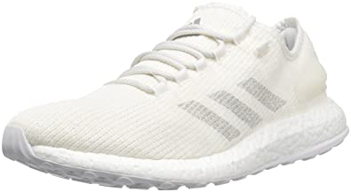 ed58f4d99 adidas Men s Pureboost Clima Running Shoe Clear Grey Chalk White
