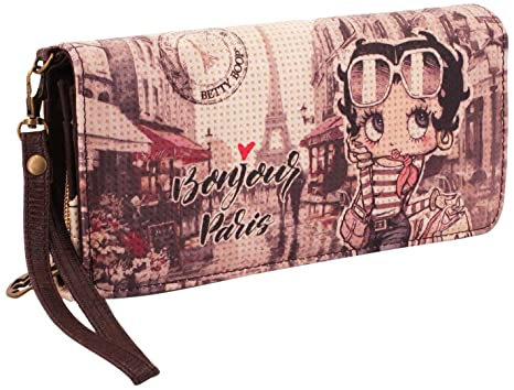 Karactermania Betty Boop Streets Monedero, 20 cm, Beige
