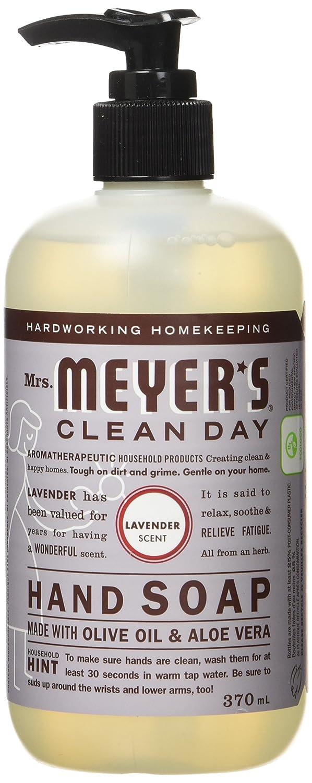 Mrs. Meyer's Clean Day Hand Soap, Lemon Verbena - 370ml SC Johnson 685206