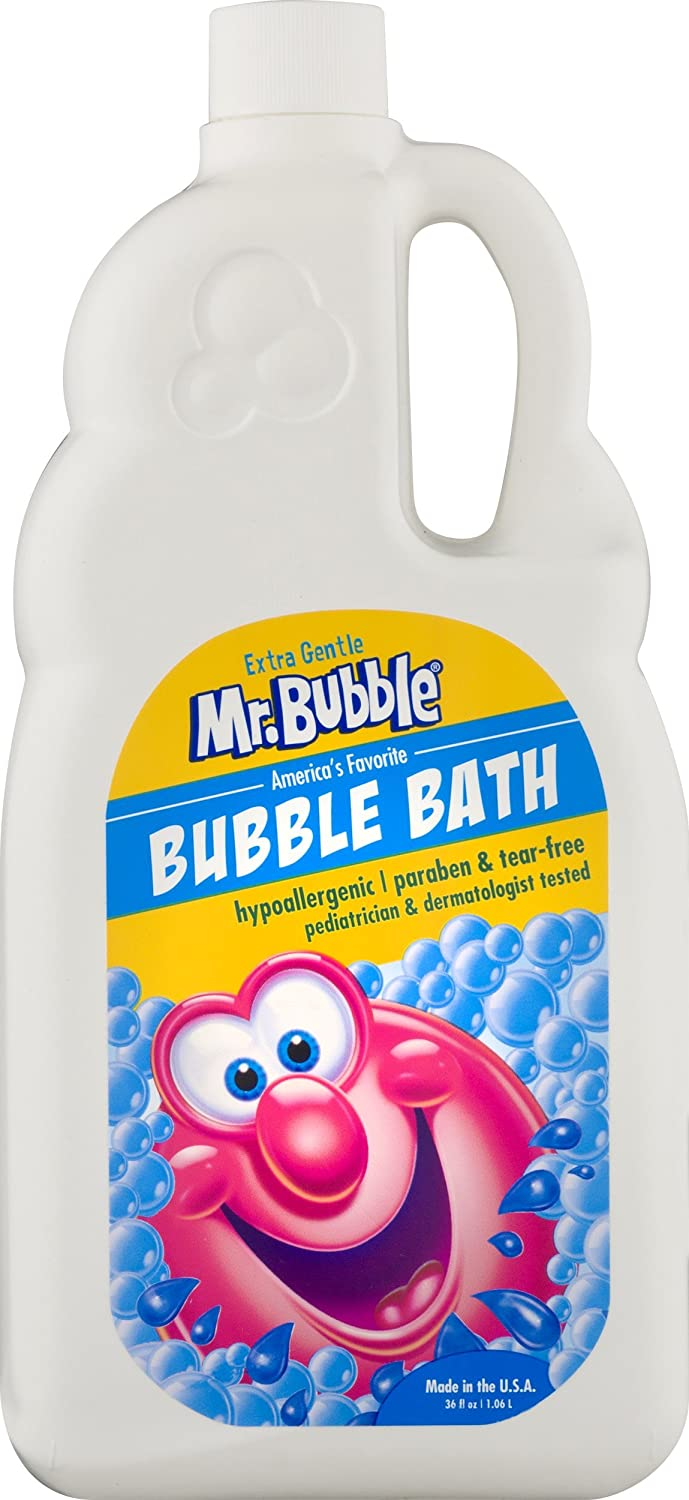 Mr. Bubble Extra gentle dye & fragrance free bubble bath, 36 Ounce
