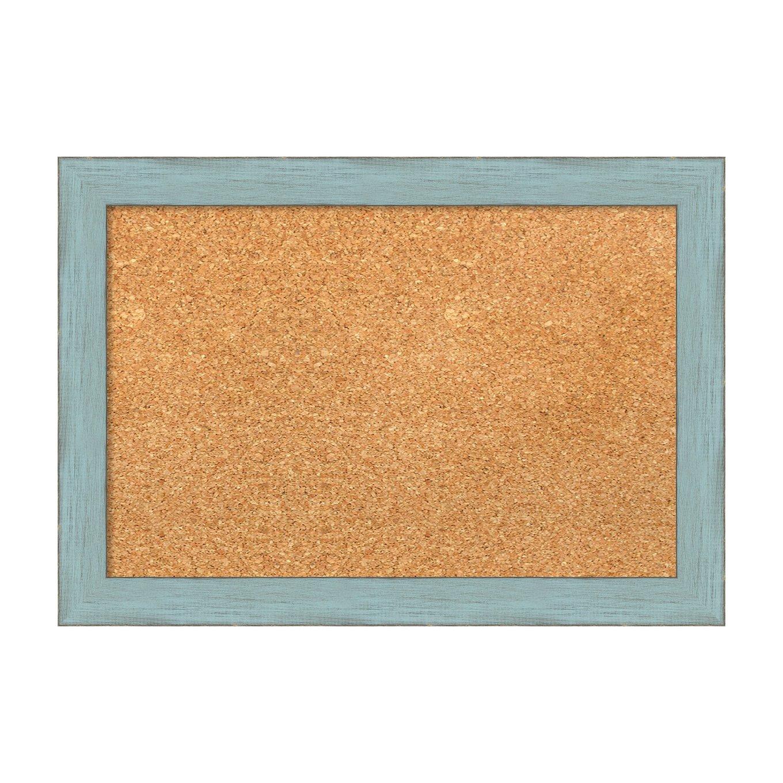 Amanti Art DSW3907475 Cork Board, Small-20 x 14, Blue