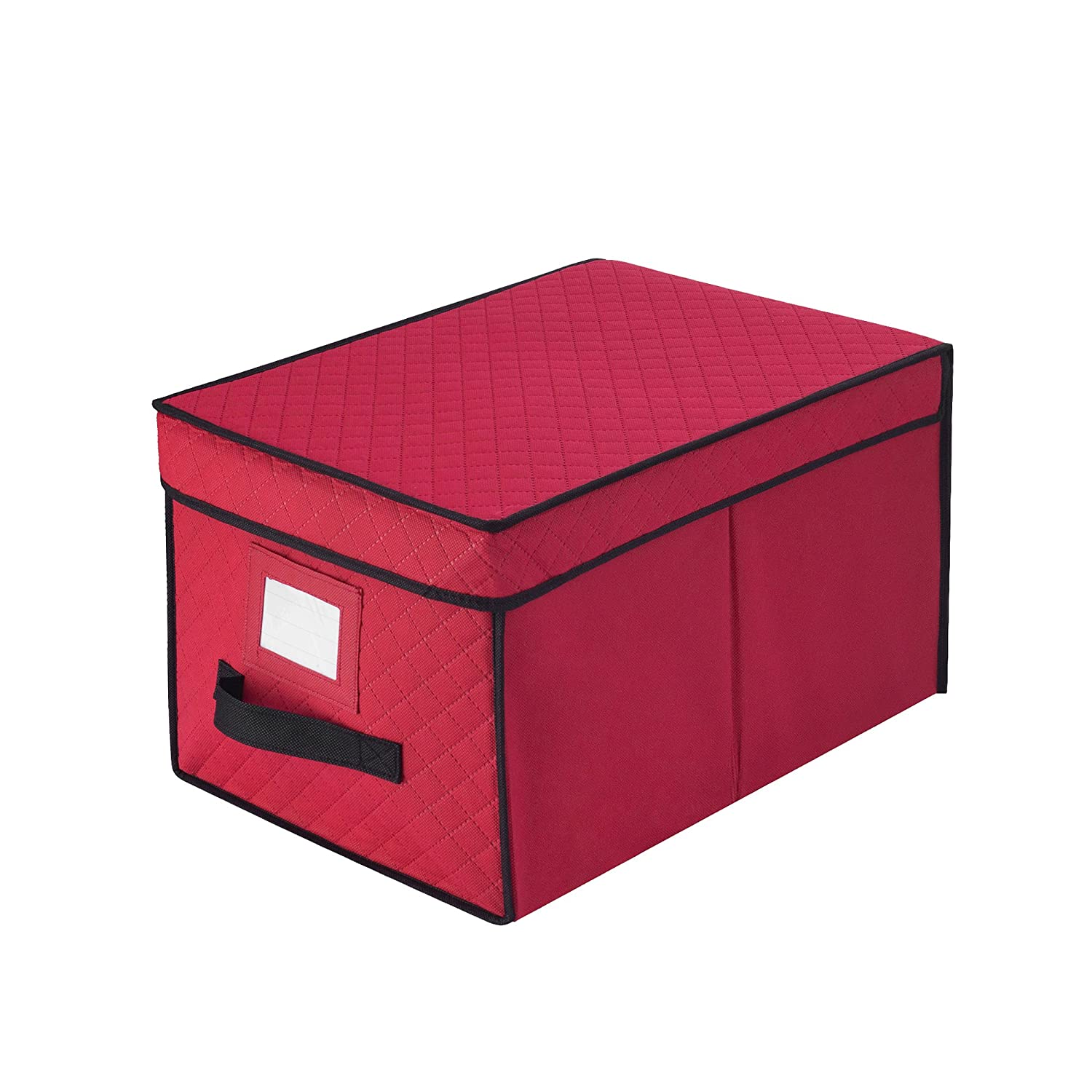 Elf Stor 5068 Ornament Red Christmas Strand Storage Box Organizes Over 400 Ft. of Lights, Reel DTX International 83-DT5515