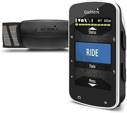 Garmin Edge 520 Pack - Ciclocomputador con GPS, incluye monitor de ...